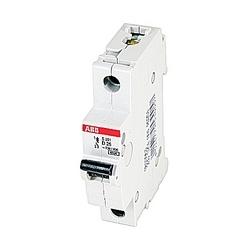 Mini Breaker, S200, 480Y/277 V AC, Trip D, 1 Pole, 25A