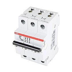 Mini Breaker, S200, 480Y/277 V AC, Trip D, 3 Pole, 2A