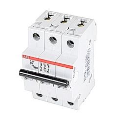 Mini Breaker, S200, 480Y/277 V AC, Trip D, 3 Pole, 4A