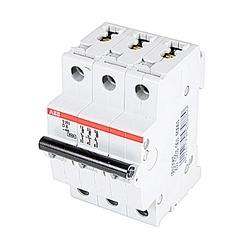Mini disjoncteur, S200, 480Y/277 V AC, voyage D, pôle 3, 6 a