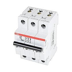 Mini Breaker, S200, 480Y/277 V AC, Trip D, 3 Pole, 8A