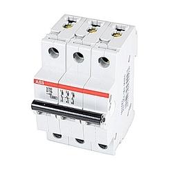 Mini Breaker, S200, 480Y/277 V AC, Trip D, 3 Pole, 13A