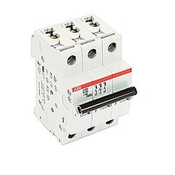 Mini Breaker, S200, 480Y/277 V AC, Trip D, 3 Pole, 20A