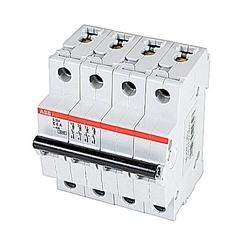 Mini Breaker, S200, 480Y/277 V AC, Trip K, 4 Pole, 6A