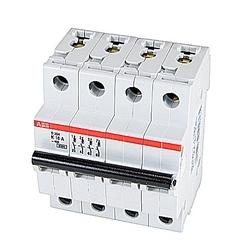 Mini Breaker, S200, 480Y/277 V AC, Trip K, 4 Pole, 16A