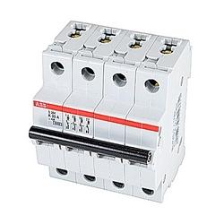 Mini Breaker, S200, 480Y/277 V AC, Trip K, 4 Pole, 20A