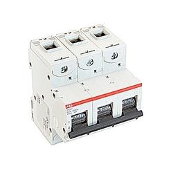 Mini Breaker, S800U, UL489, 240 V AC, Trip K, 3 Pole, 60A