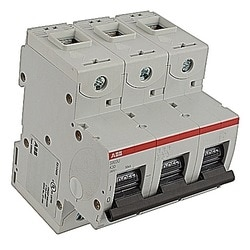 Mini Breaker, S800U, UL489, 240 V AC, Trip K, 3 Pole, 30A