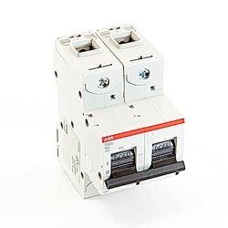 Mini Breaker, S800U, UL489, 240 V AC, Trip K, 2 Pole, 60A