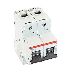 Mini Breaker, S800U, UL489, 240 V AC, Trip K, 2 Pole, 80A