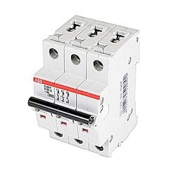 Mini Breaker, S200P, 480-277 V AC, Trip K, 3 Pole, 63A