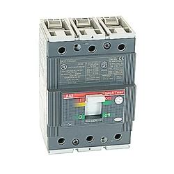 pôle 3, 150 ampères nominale de 480V AC et DC 500V, Tmax moulé disjoncteur boîtier, avec un dispositif de déclenchement magnétique thermique et 25kA au courant nominal de 480V AC interruption