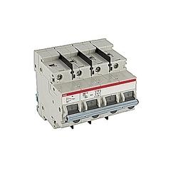 pôle 3, 10 ampères puissance nominale V AC, UL 1077 série disjoncteur miniature avec dispositif de déclenchement réglable, courbe de déclenchement de B et 30kA interruption de courant nominal