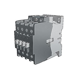 3 pole, 45 amp, non-reversing across the line contactor with 277V AC coil and 1 NO auxiliary contact