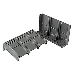 Low profile 2 piece terminal cover for 3 pole A2 breakers