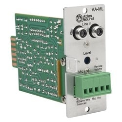 Mic/line input module for the AA120M