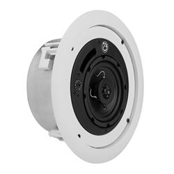 4 po, 16 W, 70,7/100 V/8 ohms haut-parleur coaxial system, boîtier extra-plat