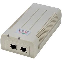 GREEN PoE, 1-Port, 30W, Gigabit PoE Midspan, 12-24 V DC Input