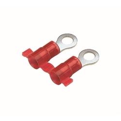 Cosse à anneau, Nylon isolé, 22 - 18 AWG, taille 4 # Stud, touret Fed, Pack de 3000