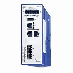 Compact, commutateur Fast Ethernet administré avec redondance d'entrée de gamme conçu pour les longues MTBF dans des environnements industriels difficiles à Position rentable, d'entrée de gamme. Commutateur de niveau 2 pour le Rail DIN, le cuivre de FE 2 et 2 Ports SFP de FE, - 40-70C Temp Rating, Type DLR