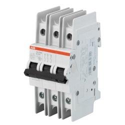 Disjoncteur miniature K-caractéristique, 10kA, 60 a, 3P UL489