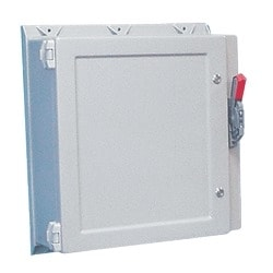 Type 4X Disconnect Enclosure, Size/Dims: 20.19x16.25x10.00, Material/Finish: Fiberglass