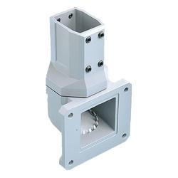 Joint de mur Vertical, P. Arm, taille/Dims : s'adapte 45x60mm, matériau/finition : alun/LtGray