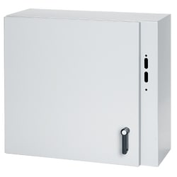 Type 12 Disconnect Enclosure, Size/Dims: 42.00x38.00x12.00, Material/Finish: Steel/LtGray