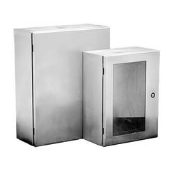 Wall-Mount Type 4X Enclosure, Size/Dims: 24.00x20.00x8.00, Material/Finish: SS Type 316L