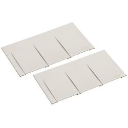 COUVERCLE d'extrémité pour 2 01231/2, taille/Dim : 6x200x120mm