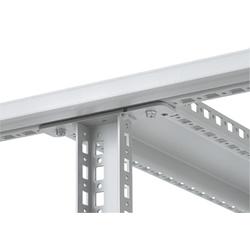 Centre vertical, taille/Dims : correspond à 2200mm de hauteur, finition/matériau : acier/zinc