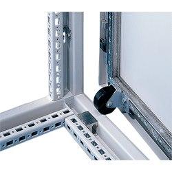 Kit de rouleaux de soutien porte, taille/Dims : ajustements porte barres, matériau/finition : acier/plastique