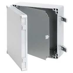 Swing Panel, QLINE I, Size/Dims: fits 200x200mm, Material/Finish: Aluminum