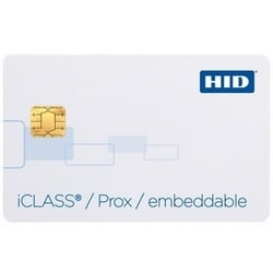 Credentials, Cards, ICLASS PROX COMP EMBED 16K, PROG, F-GLOSS, B-GLOSS, MATCH ICLASS #, NO SLOT, MATCH 125K, LAM
