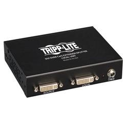 4-Port DVI over Cat5/Cat6 Extender Splitter, Video Transmitter, 1920x1080 at 60Hz, Up to 200-ft., TAA