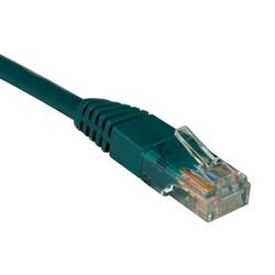 CAT5e 350MHz moulé Patch Cable (RJ45 M/M) - vert, 1 pi.