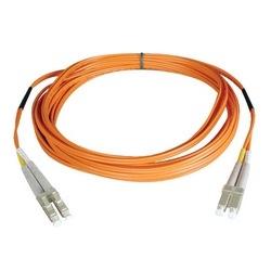 Câble de raccordement de fibre Multimode duplex de 62,5/125 (LC/LC), 61M (200 pi).
