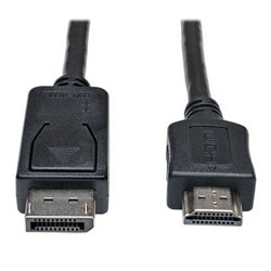 DisplayPort to HDMI Cable Adapter (M/M), 10-ft.