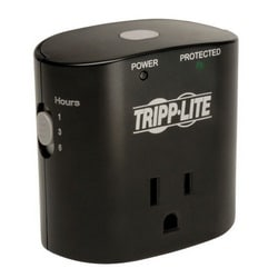 Protect It! 1-Outlet Surge Protector, Direct Plug-In, 350 Joules, Timer Selection Switch