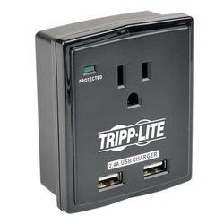 Protégez-le! 1-Outlet Surge Protector, Direct plug-in, 1080 Joules, 2. 4 a chargeur USB