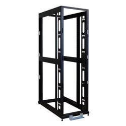 45U SmartRack 4-Post Mid-Depth Open Frame Rack