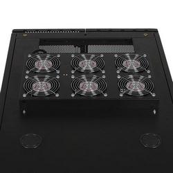 SmartRack Roof-Mounted Fan Panel - 6 208/240V high-performance fans; 420 CFM; C14 inlet