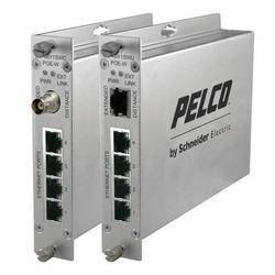 EthernetConnect 4-Port auto géré PoE Switch 30 watt par Port avec étendu Coax Uplink mural