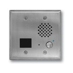 Acier inoxydable interphone avec lecteur de carte de proximité, Flush se monte dans la boîte de Double commande