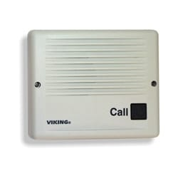 Weather-Resistant Handsfree Doorbox, Impact-resistant UV Stable Plastic Chassis, Ash (Surface Mount)