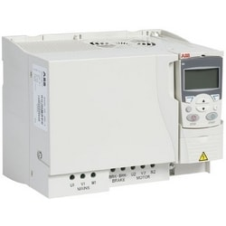 Variable Frequency Drive (General Machinery), Three Phase Input, 480 V AC, 30 HP, IP20, Basic Control Panel, Wall Mount, R4 Frame