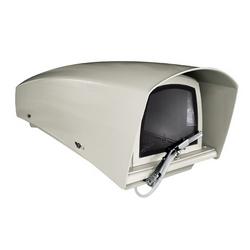 """Logement 20,4"""" 520 mm avec pare-soleil, Triple chauffage ventilé et essuie-glace intégré 230 V AC CE évalué, Non UL"""