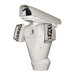 ULISSE Max.I NETCAM pour réseau caméras 24 V AC, avec boîtier extra-large, essuie-glace arrière, prédisposé pour le montage en option de UPTIRN illuminateurs, capteurs pour le positionnement absolu. ONVIF Compatible