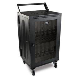 32-appareil AC Charger Station armoire pour iPad et tablettes Android, mural et chariot Options, noir