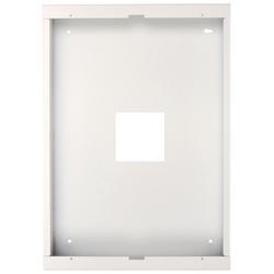 Finition de surface Mount enceinte pour horloge CK1/S déflecteur Assemblée, poudre blanche Coat